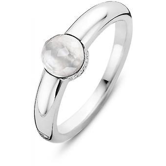 Ring Ti Sento 12111MW - ring silver vit kvinna