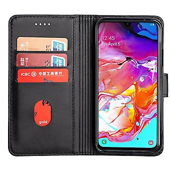CaseGate phone case for Samsung Galaxy A7 2019 / A70 case cover – lock, stand function and card compartment