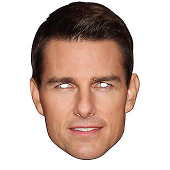 Tom Cruise Celebrity Card Party Fancy Dress Mask