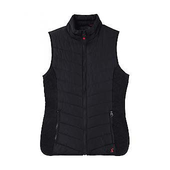 Joules Fallow Womens Padded Gilet With Funnel Neck (ss12) - Marine Navy Blue