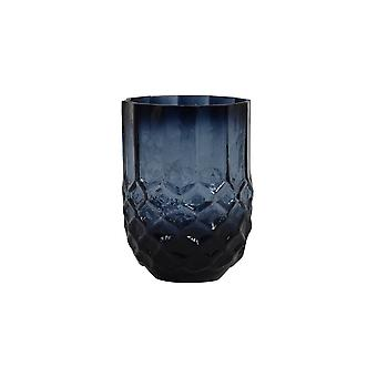Light & Living Tealight 10x15.5cm - Forges Glass Blue