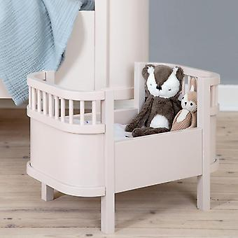 Sebra - sebra dolls bed - dusty pink