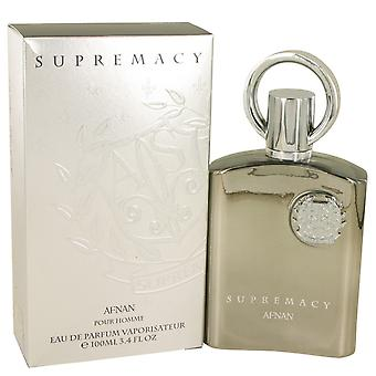 Supremacy Silver by Afnan Eau De Parfum Spray 3.4 oz / 100 ml (Men)