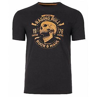 RAGING BULL Raging Bull Skull T Shirt