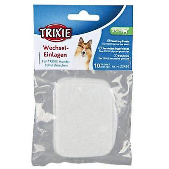 Trixie 10 Compresas sanitarias braguitas, L, XL (Dogs , Grooming & Wellbeing , Diapers)