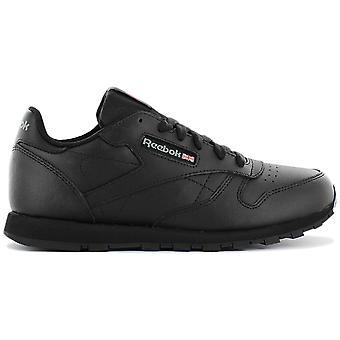 ريبوك كلاسيك الجلود CL LTHR - أحذية نسائية سوداء 3912 أحذية رياضية أحذية رياضية