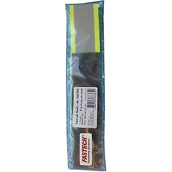 FASTECH® F102-38-430R Haken-Schleifen-Band mit Reflektor, Annähen von Haken und Loop Pad (L x B) 430 mm x 38 mm Neon gelb 1 Stk.