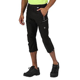 Regatta Mens Highton Polyamide Capri Stretch Walking Shorts