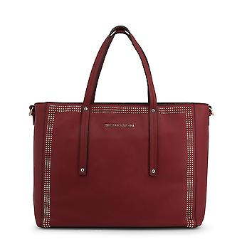 Trussardi Original Women All Year Shopping Bag - Red Color 48995