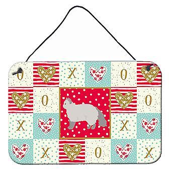 Selkirk Rex #2 Cat Love Vägg eller dörr hängande utskrifter