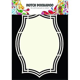 Dutch Doobadoo Dutch Shape Art frame ornement rectangle A5 470.713.144
