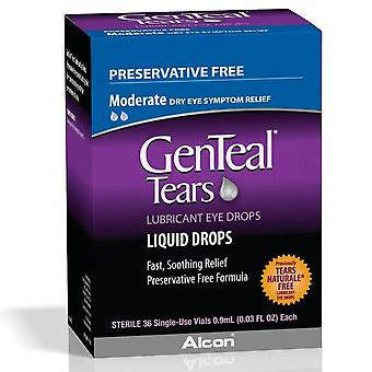 Genteal tears lubricant eye drops single-use vials, 36 ea