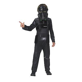 Star Wars Childrens/Kids Death Trooper Deluxe Costume