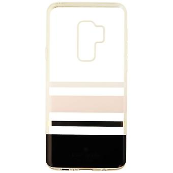 Kate Spade Flexible Hardshell Case for Galaxy S9 Plus - Charlotte Stripe Black