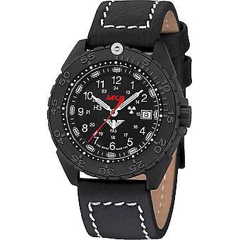 KHS Wristwatch الرجال المنفذ الأسود تيتان CR KHS. ENFBTCR. Lbb