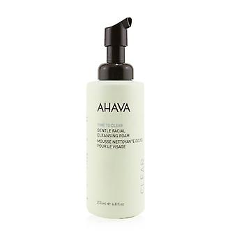 Ahava Time To Clear Gentle Facial Cleansing Foam (Unboxed) 200ml/6.8oz