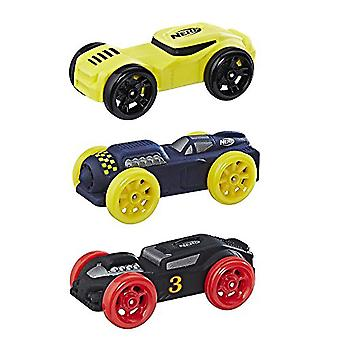 Nerf Nitro Foam Car 3-Pack (Yellow, Blue, Black)