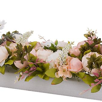 Hill Interiors Artificial Peony Table Runner