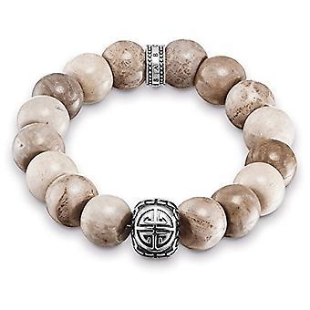 Thomas Sabo Silber Herren braun Armband 925