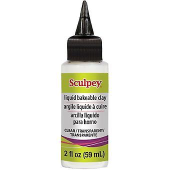 Polyform Sculpey Liquid Clay 2oz Clear