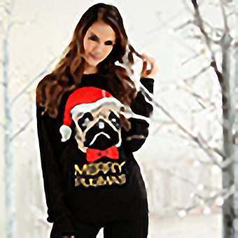 Kerst Shop volwassenen Merry Pugmas Jumper