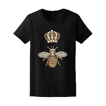Königin-Krone und Biene drucken T-Shirt Frauen-Bild von Shutterstock