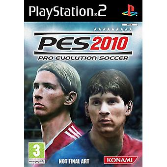 Pro Evolution Soccer 2010 (PS2) - New Factory Sealed