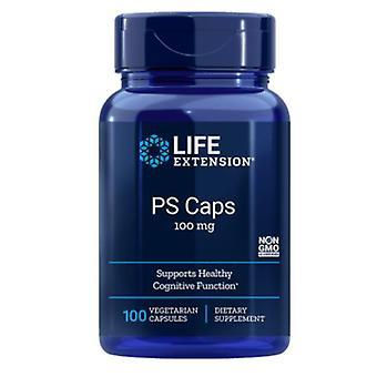 PS Caps 100 mg (100 Veggie Caps) - Life Extension