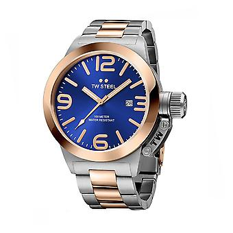TW Steel CB141 Kantine Mens Horloge - Two Tone
