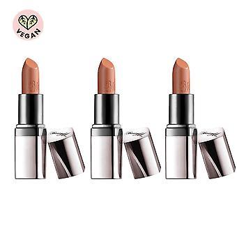 Barry M 3 X Barry M Satin Super Slick Lip Paint - Bare It All