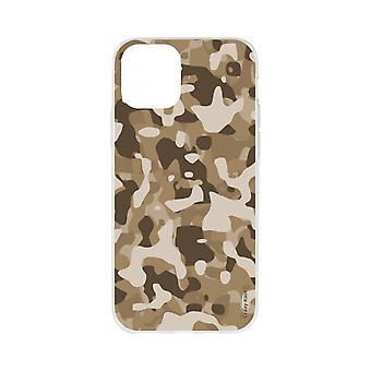 Casco para iPhone 11 Pro Max Soft Desert Military Camouflage