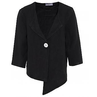 Mustikka Italia Lyhyt pellava takki