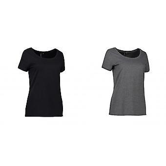 ID 女性/女士核心 O-颈部 T 恤