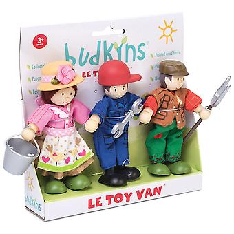 Le Toy Van Traditional Toys Farmers Triple Pack