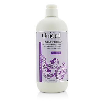 Curl immersion no lather coconut cream cleansing conditioner (kinky curls) 219748 500ml/16oz