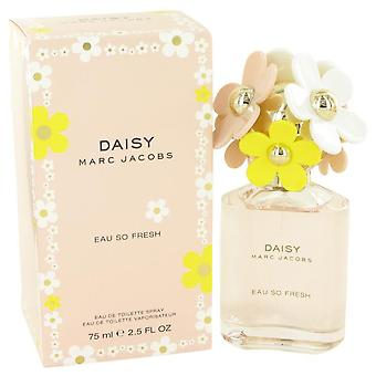 Daisy Eau para fresco Eau De Toilette Spray por Marc Jacobs 2,5 oz Eau De Toilette Spray