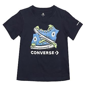 Boy's Converse Infant Bio Chuck T-Shirt in Blue