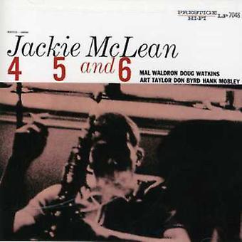 Jackie McLean - 4 5 & 6 [CD] USA import