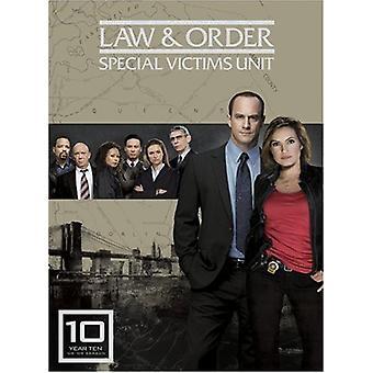 Law & Order: Special Victims Unit - Jahr zehn [5 CDs] [DVD] USA Import