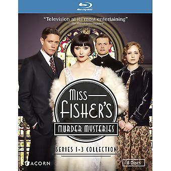 Miss Fishers mordmysterier: serie 1-3 [Blu-ray] USA importerer