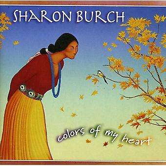 Sharon Burch - Colors of My Heart [CD] Usa import