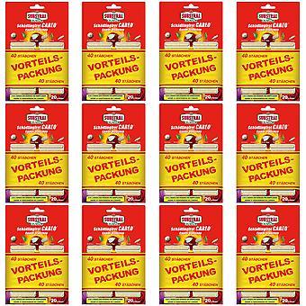 Sparset: 12 x SUBSTRAL® Celaflor® Pest-free Careo® Combi sticks, 40 pieces