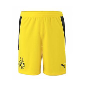 2020-2021 Borussia Dortmund Home Puma Shorts (Galben) - Copii