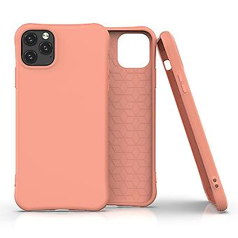 For iPhone 11 Pro Case Solid Slim Case Protective Cover Orange