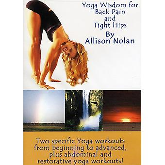 Yoga Wisdom for Back Pain & Tight Hips [DVD] USA import