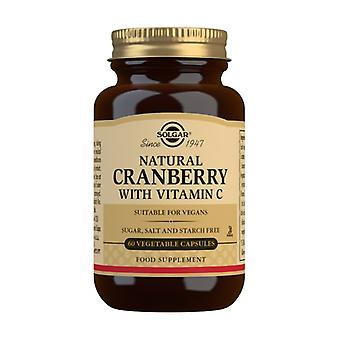 Cranberry with vitamin C 60 vegetable capsules
