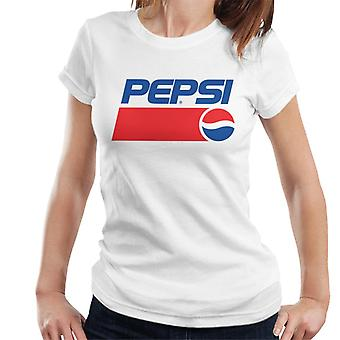 Pepsi 1991 retro logo naisten T-paita