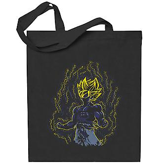 Post Impressionist Goku Dragon Ball Super Totebag