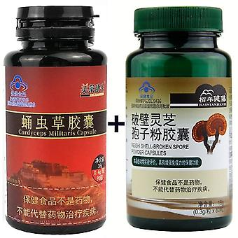 Mushroom And Cordyceps Militaris Sinensis Extracts Capsules Energy Support Improve Health Immune System