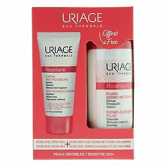 Uriage Roseliane Gift Set 40ml Roseliane Anti-Redness Cream + 100ml Dermo-Cleansing Fluid